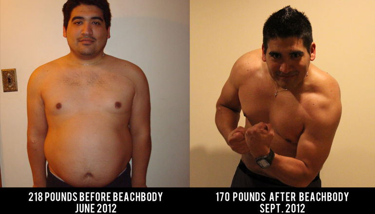 Miguel Carrasco Beachbody Transformation