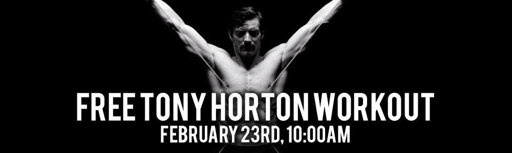Tony Horton Event Calgary