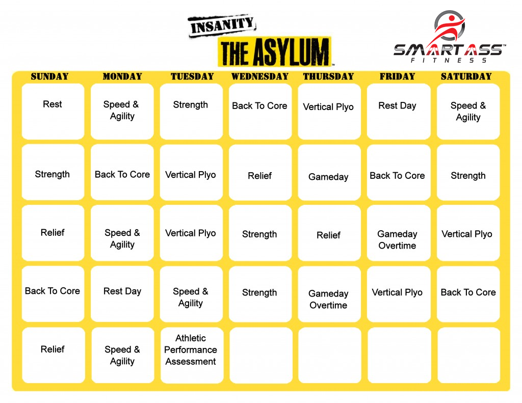 Insanity: The Asylum Review | Smart Ass Fitness