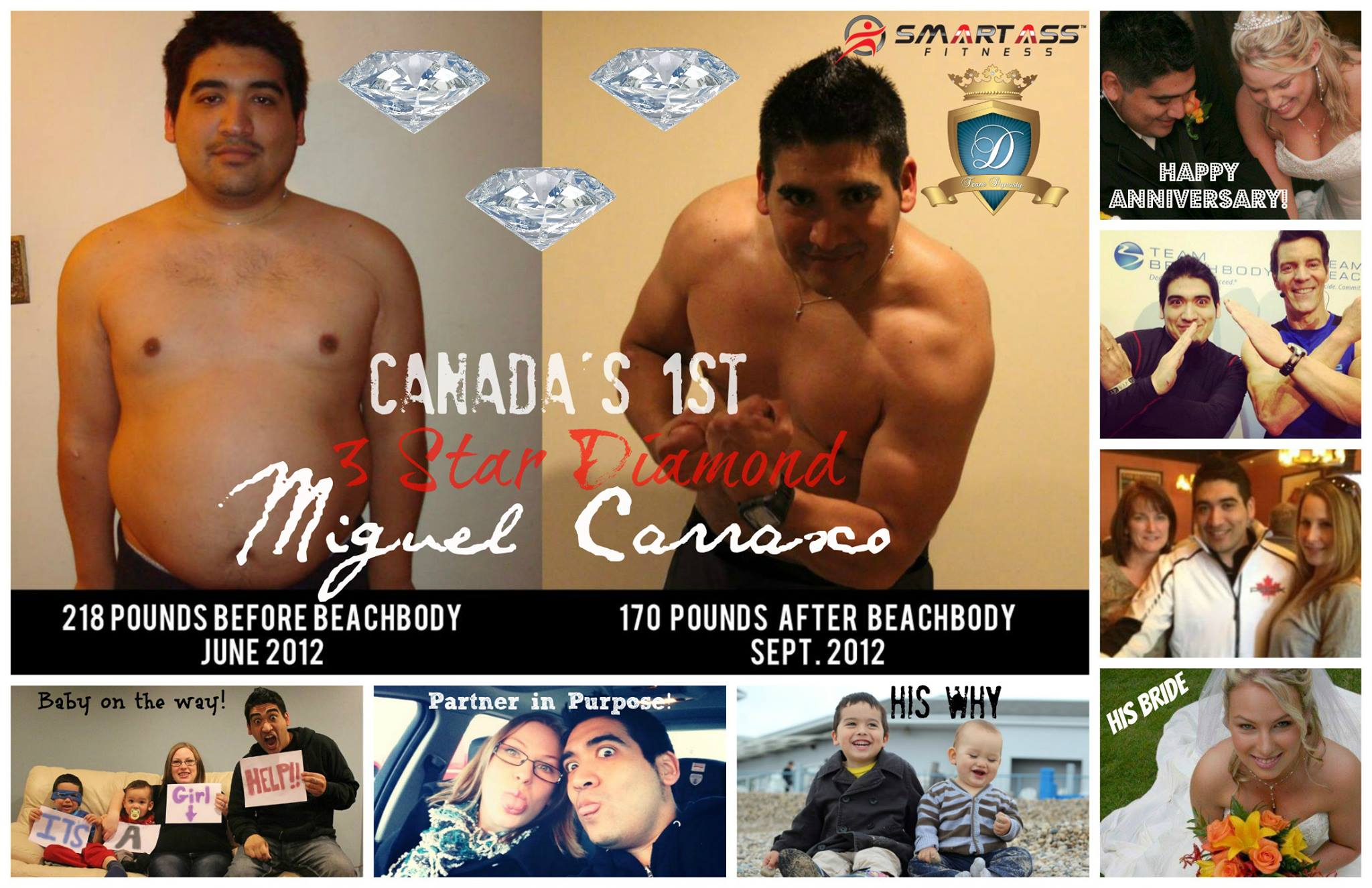 Canada's First Three Star Diamond Beachbody Coach