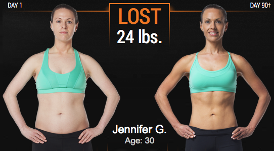 P90X3 Workout Results
