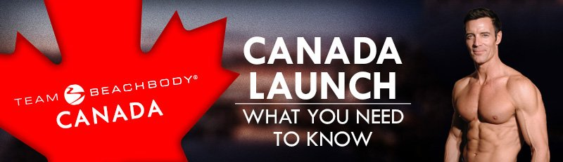 Team Beachbody Canada Official Launch