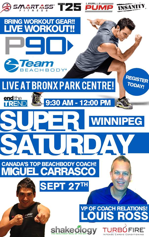Winnipeg Beachbody Canada Event