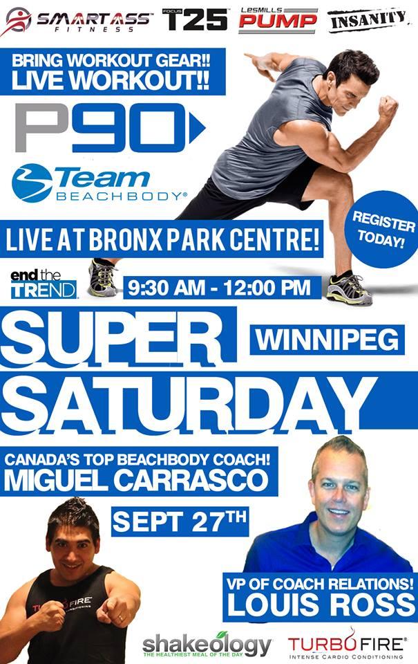 Winnipeg Beachbody Canada Event