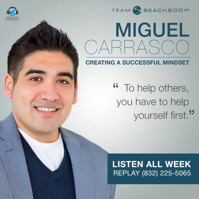 Beachbody National Wake-Up Call Featuring Miguel Carrasco