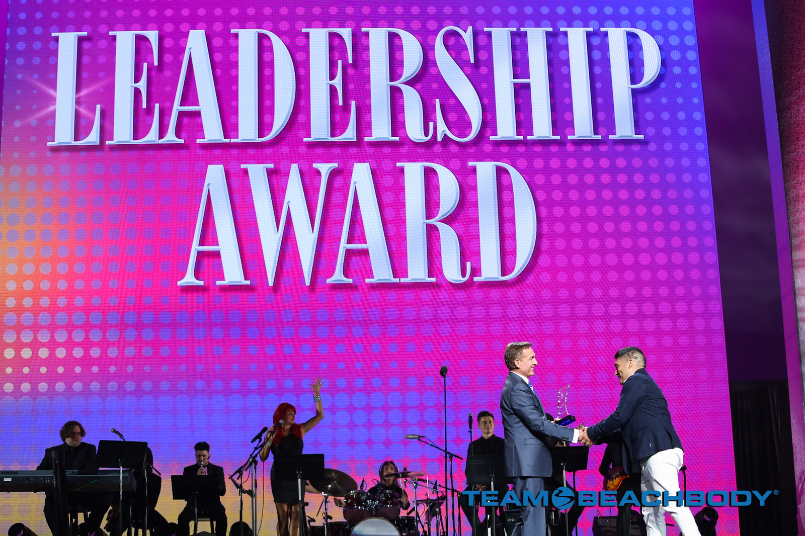 Beachbody Leadership Award Recipient Miguel Carrasco